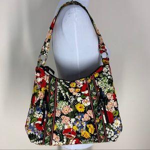 Vera Bradley Poppy Fields Shoulder Bag Purse